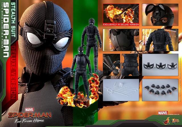 Cận cảnh bộ giáp đen siêu ngầu của Nhện Nhọ trong Spider-Man: Far From Home - Ảnh 14.