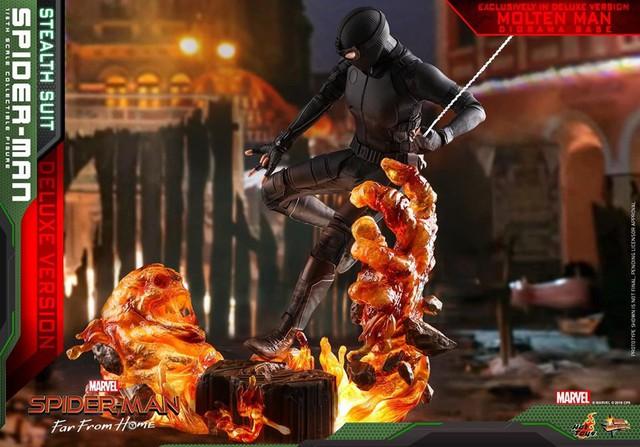 Cận cảnh bộ giáp đen siêu ngầu của Nhện Nhọ trong Spider-Man: Far From Home - Ảnh 5.