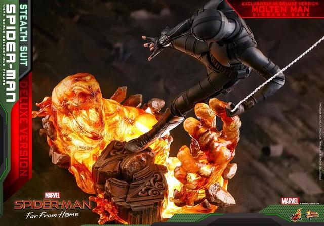 Cận cảnh bộ giáp đen siêu ngầu của Nhện Nhọ trong Spider-Man: Far From Home - Ảnh 8.