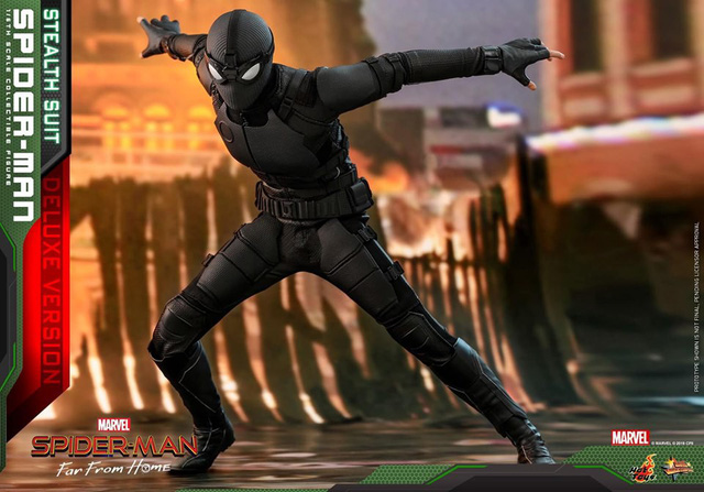 Cận cảnh bộ giáp đen siêu ngầu của Nhện Nhọ trong Spider-Man: Far From Home - Ảnh 11.