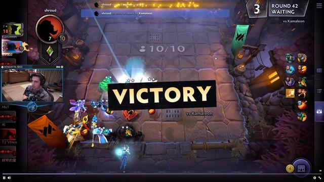 Shroud thử sức với Underlord, chứng minh nhân phẩm thượng thừa khi giành ngay top 1 - Ảnh 1.