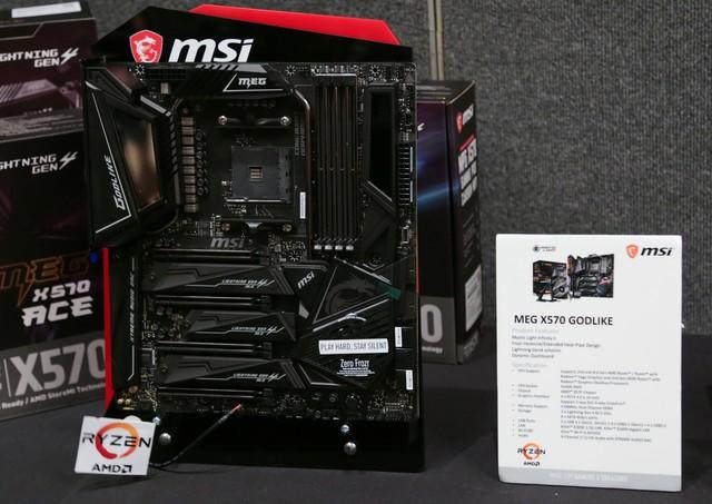 MSI tung loạt bo mạch chủ X570 tuyệt vời đón chào Ryzen 3000 siêu mạnh sắp ra mắt game thủ - Ảnh 2.