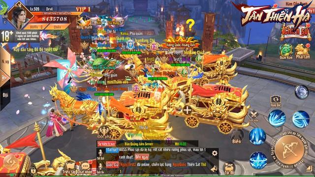 Trải nghiệm Tân Thiên Hạ - Game nhập vai quốc chiến PK phê, bắt gái phê qua chùm ảnh Việt hóa độc quyền - Ảnh 8.