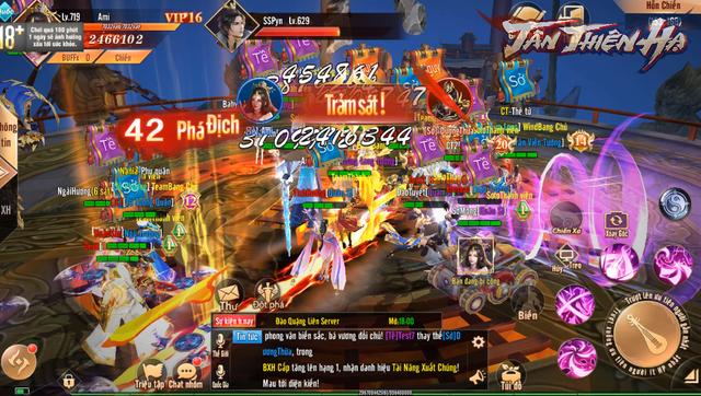 Trải nghiệm Tân Thiên Hạ - Game nhập vai quốc chiến PK phê, bắt gái phê qua chùm ảnh Việt hóa độc quyền - Ảnh 10.