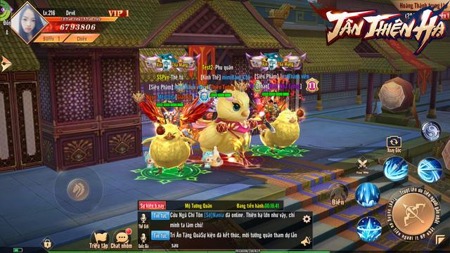 Trải nghiệm Tân Thiên Hạ - Game nhập vai quốc chiến PK phê, bắt gái phê qua chùm ảnh Việt hóa độc quyền - Ảnh 14.