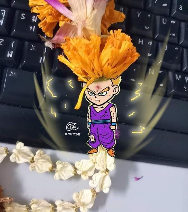 Chết cười với loạt ảnh chế sang chảnh siêu lầy do fan sáng tạo về các nhân vật trong Dragon Ball - Ảnh 13.