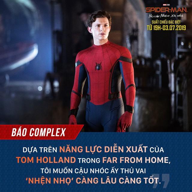 Báo quốc tế đồng loạt khen ngợi Spider-Man: Far From Home, một bộ phim Marvel vượt xa kỳ vọng - Ảnh 1.