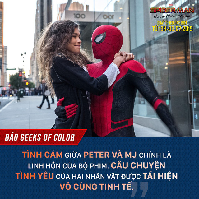 Báo quốc tế đồng loạt khen ngợi Spider-Man: Far From Home, một bộ phim Marvel vượt xa kỳ vọng - Ảnh 2.