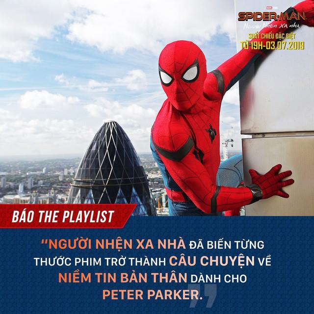 Báo quốc tế đồng loạt khen ngợi Spider-Man: Far From Home, một bộ phim Marvel vượt xa kỳ vọng - Ảnh 3.