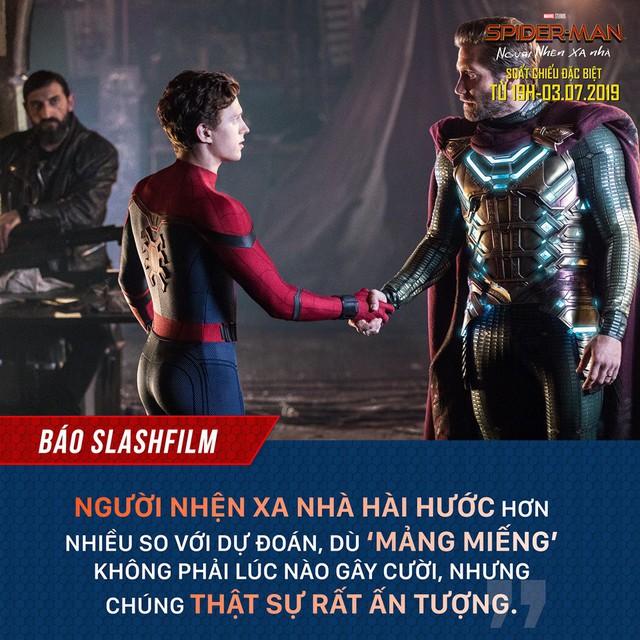 Báo quốc tế đồng loạt khen ngợi Spider-Man: Far From Home, một bộ phim Marvel vượt xa kỳ vọng - Ảnh 4.