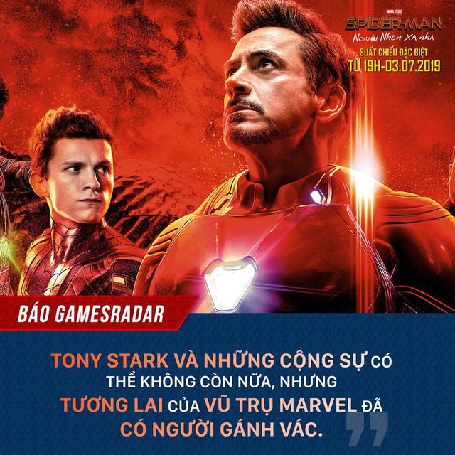 Báo quốc tế đồng loạt khen ngợi Spider-Man: Far From Home, một bộ phim Marvel vượt xa kỳ vọng - Ảnh 5.