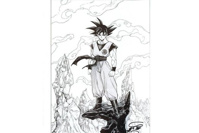 Các nhân vật trong Dragon Ball khác lạ dưới nét vẽ của những họa sĩ truyện tranh nổi tiếng - Ảnh 10.