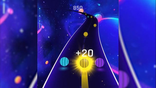 Thử ngay tựa game Dancing Road: Tưởng không khó mà khó không tưởng - Ảnh 3.