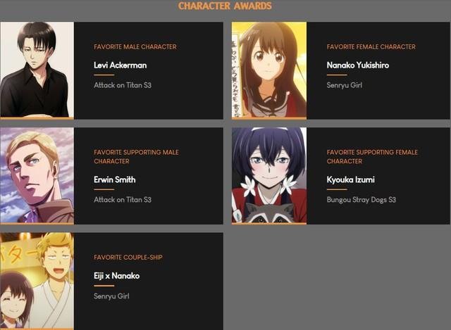Bảng xếp hạng tổng kết anime mùa xuân 2019, nam - nữ thần nào được xướng tên? - Ảnh 1.