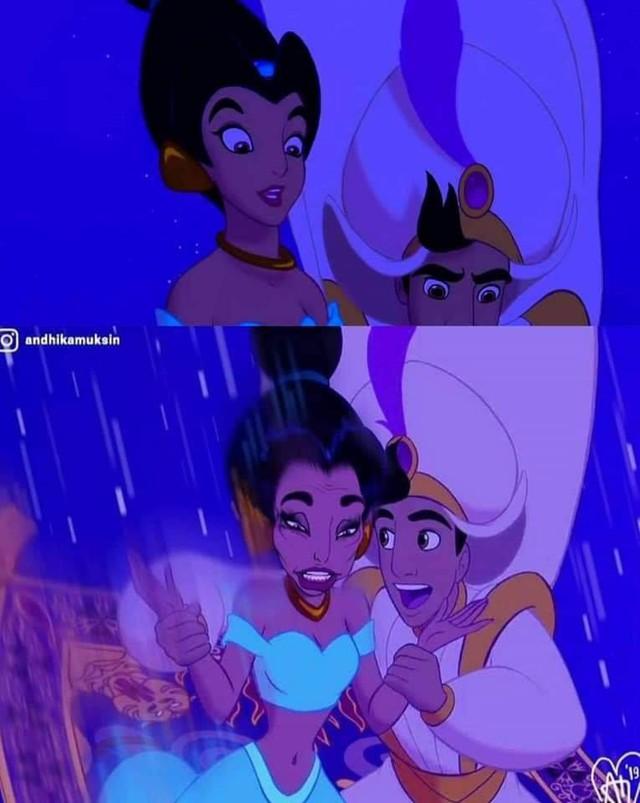 Ngắm hình ảnh các công chúa Disney với biểu cảm chân thực như thế này, hẳn nhiều người sẽ cảm thấy bị đục khoét tuổi thơ - Ảnh 4.