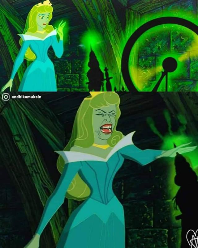 Ngắm hình ảnh các công chúa Disney với biểu cảm chân thực như thế này, hẳn nhiều người sẽ cảm thấy bị đục khoét tuổi thơ - Ảnh 6.