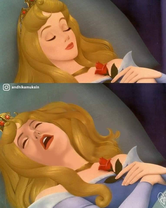 Ngắm hình ảnh các công chúa Disney với biểu cảm chân thực như thế này, hẳn nhiều người sẽ cảm thấy bị đục khoét tuổi thơ - Ảnh 9.