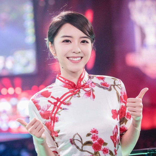 Ngẩn ngơ trước vẻ đẹp chim sa cá lặn của những caster nữ Esports Trung Quốc - Ảnh 3.