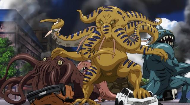 8 loại quái vật đáng sợ đã xuất hiện trong One-Punch Man, dù mạnh đến mấy gặp Saitama đều tắt điện - Ảnh 2.