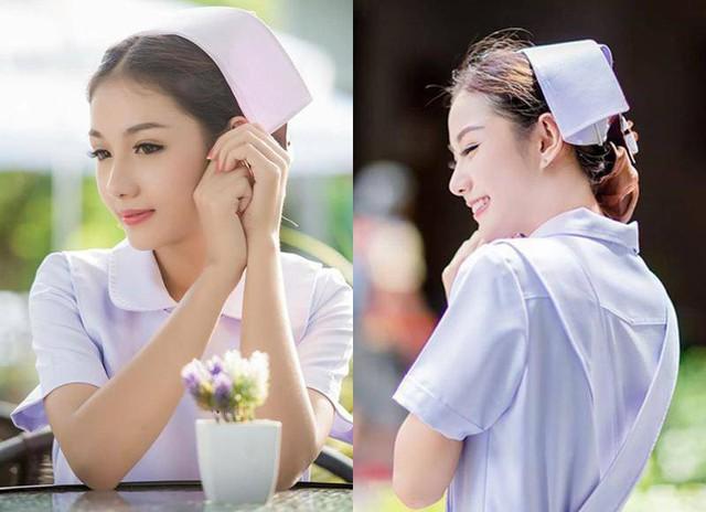 Nhan sắc nữ y tá gợi cảm bị đuổi việc vì quá xinh đẹp nhưng vẫn quyết yêu nghề không chịu làm người mẫu - Ảnh 2.