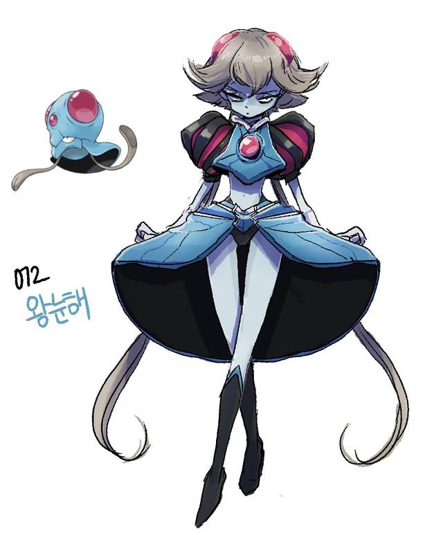 """Sốc: Không ngờ khi được """"nhân cách hóa"""", một số Pokemon lại có thể trông... ngọt nước đến thế này - Ảnh 24."""