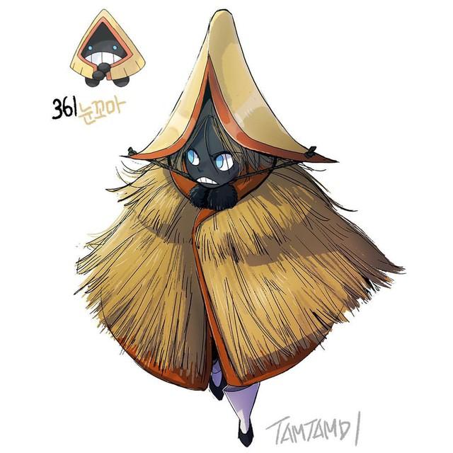 """Sốc: Không ngờ khi được """"nhân cách hóa"""", một số Pokemon lại có thể trông... ngọt nước đến thế này - Ảnh 27."""