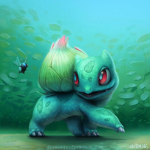 """Sốc: Không ngờ khi được """"nhân cách hóa"""", một số Pokemon lại có thể trông... ngọt nước đến thế này - Ảnh 1."""