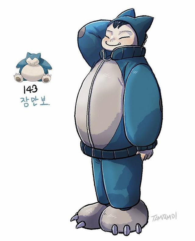 """Sốc: Không ngờ khi được """"nhân cách hóa"""", một số Pokemon lại có thể trông... ngọt nước đến thế này - Ảnh 35."""