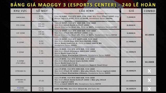Ghé qua Maoggy Esports Center - Cyber hàng khủng dành cho game thủ muốn trải nghiệm thể thao điện tử chuyên nghiệp tại Thanh Hóa - Ảnh 4.
