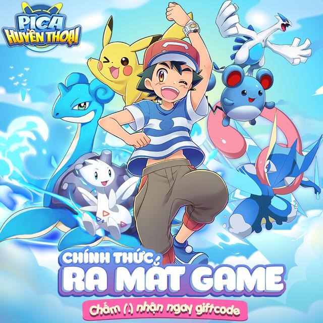 Fan cuồng Pokemon đâu hết rồi? Pica Huyền Thoại đã chính thức ra mắt, tặng ngay 2000 Giftcode cực HOT - Ảnh 1.