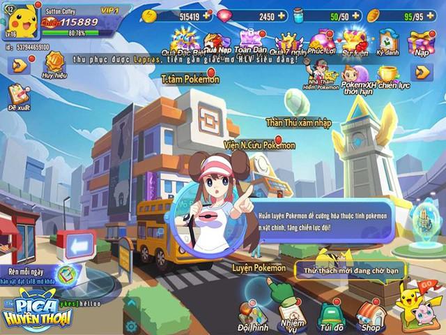 Cảm nhận đầu tiên về Pica Huyền Thoại: Game hay, dễ build đội hình Pokemon trong mơ, cân bằng giữa đại gia và dân cày - Ảnh 2.