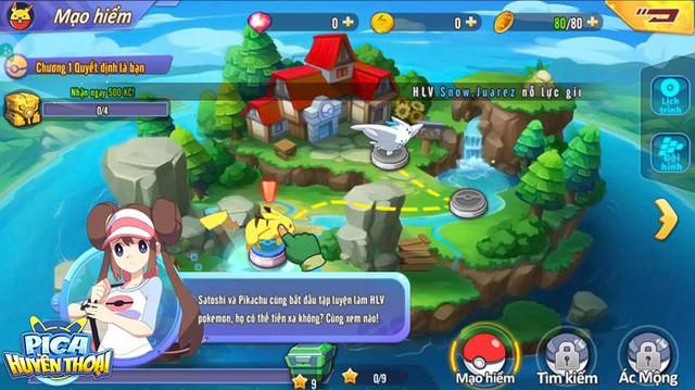 Cảm nhận đầu tiên về Pica Huyền Thoại: Game hay, dễ build đội hình Pokemon trong mơ, cân bằng giữa đại gia và dân cày - Ảnh 3.