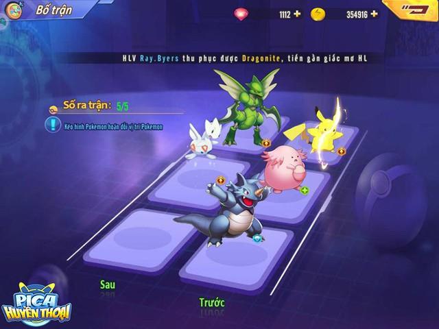 Cảm nhận đầu tiên về Pica Huyền Thoại: Game hay, dễ build đội hình Pokemon trong mơ, cân bằng giữa đại gia và dân cày - Ảnh 7.