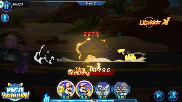 Cảm nhận đầu tiên về Pica Huyền Thoại: Game hay, dễ build đội hình Pokemon trong mơ, cân bằng giữa đại gia và dân cày - Ảnh 12.