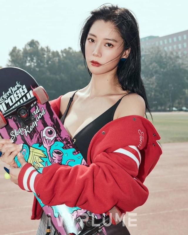 Vẻ quyến rũ của bom sex xứ Hàn, gái xinh gợi cảm tới mức bị ông chủ quấy rối gạ gẫm - Ảnh 11.