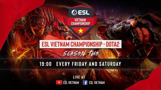 Giải đấu DOTA 2 hàng hot ESL Vietnam Championship Season 2 trở lại Việt Nam, quá tuyệt vời cho game thủ giải trí cuối tuần - Ảnh 2.