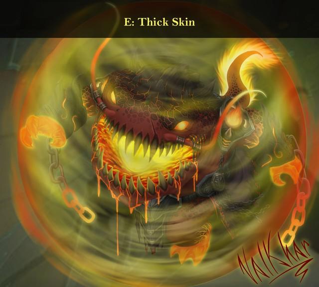 LMHT: Đợi Riot quá lâu, fan tự thiết kế skin Tahm Kench Hỏa Ngục đẹp không cưỡng nổi - Ảnh 6.
