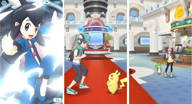 Pokémon Masters - Game mobile đánh theo lượt thể thức 3v3 mở đăng ký trước - Ảnh 2.