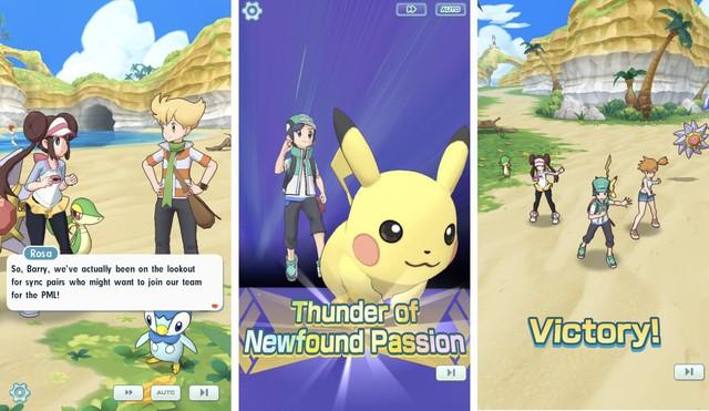 Pokémon Masters - Game mobile đánh theo lượt thể thức 3v3 mở đăng ký trước - Ảnh 4.