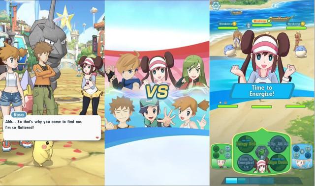 Pokémon Masters - Game mobile đánh theo lượt thể thức 3v3 mở đăng ký trước - Ảnh 3.