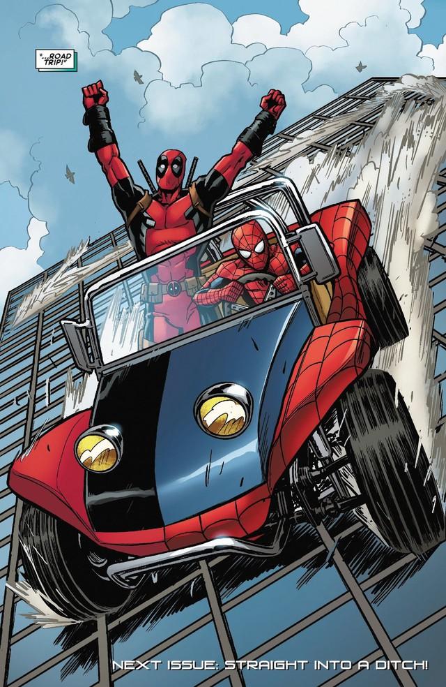 Có thể bạn chưa biết: Người Nhện đã từng sở hữu một chiếc xe chất hơn nước cất Spider-Mobile - Ảnh 6.