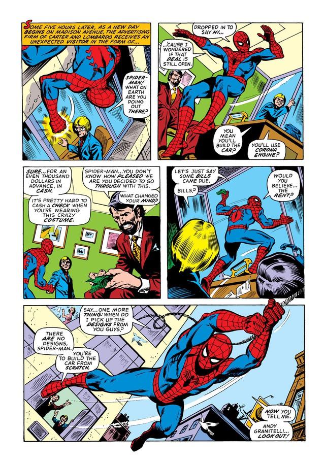 Có thể bạn chưa biết: Người Nhện đã từng sở hữu một chiếc xe chất hơn nước cất Spider-Mobile - Ảnh 1.