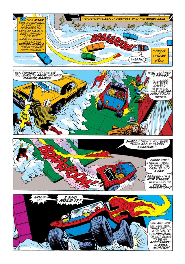 Có thể bạn chưa biết: Người Nhện đã từng sở hữu một chiếc xe chất hơn nước cất Spider-Mobile - Ảnh 2.
