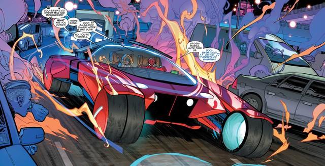 Có thể bạn chưa biết: Người Nhện đã từng sở hữu một chiếc xe chất hơn nước cất Spider-Mobile - Ảnh 5.