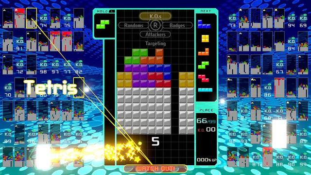 Bây giờ đến cả game xếp hình cũng có Battle Royale, lấy tên Tetris Royale - Ảnh 4.