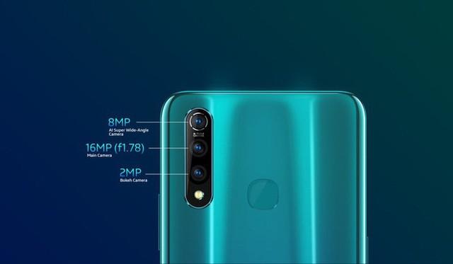 Vivo ra mắt smartphone Z1 Pro: Màn hình đục lỗ, 3 camera sau, chip Snapdragon 710 và pin 5.000 mAh, giá bán từ 217 USD - Ảnh 4.