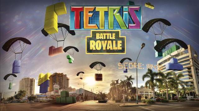 Bây giờ đến cả game xếp hình cũng có Battle Royale, lấy tên Tetris Royale - Ảnh 1.