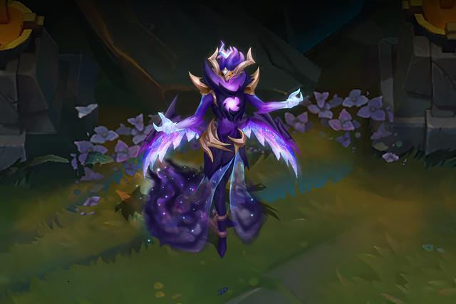 LMHT: Trầm trồ với skin Morgana Hắc Tinh đẹp tới từng chi tiết, rất tiếc chỉ là trang phục fanmade - Ảnh 1.