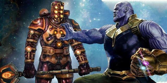 Có phải thanh kiếm của Thanos trong Endgame được tạo ra bởi các Celestial? - Ảnh 2.