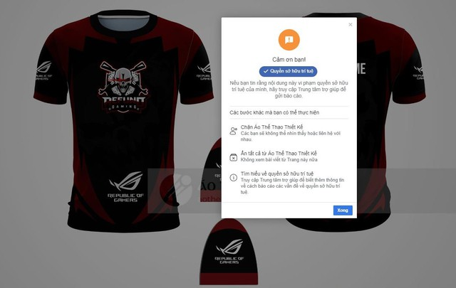 Shop trộm mẫu áo Refund Gaming bị vợ Độ Mixi phát hiện và cái kết bay màu trong nửa nốt nhạc - Ảnh 2.